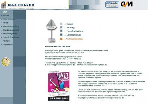 Finanzbuchhaltung in Konstanz Max Heller Steuerberatungsgesellschaft GmbH in Konstanz