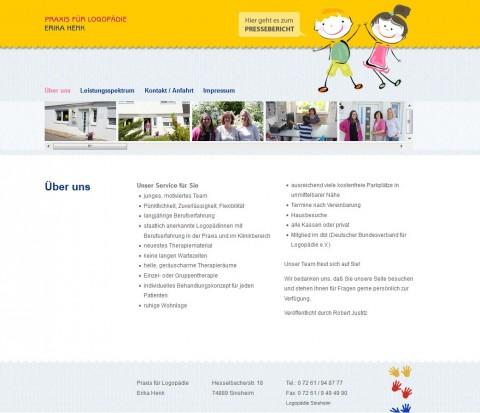 Praxis für Logopädie Erika Henk in Sinsheim in Sinsheim (Rohrbach)