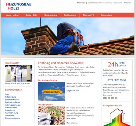 Heizungsbau Holz GmbH in Meinerzhagen in Meinerzhagen