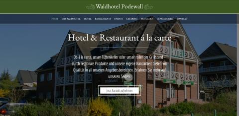 Ihre Unterkunft in Neubrandenburg: Waldhotel Podewall    in Trollenhagen OT Podewall