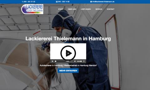 Lackiererei Thielemann in Hamburg in Hamburg