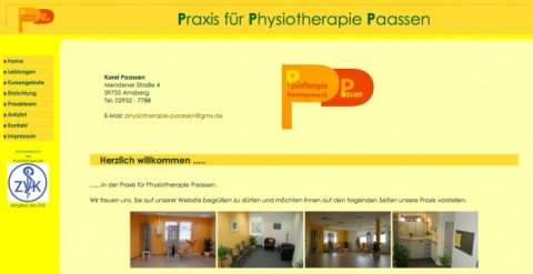 Physiotherapie Paassen in Arnsberg in Arnsberg