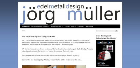 Maßangefertigte Hundeboxen bei Edelmetalldesign Jörg Müller in Kail