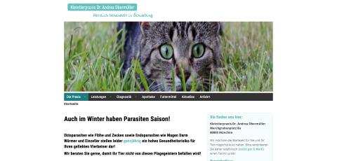 Kleintierpraxis Dr. Andrea Obermüller – Ihr Tierarzt in Schwabing-Freimann in München