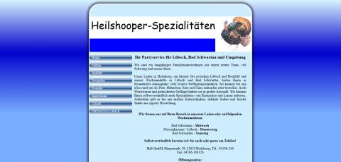 Ihr Partyservice in Lübeck: Heilshooper Spezialitäten in Heilshoop