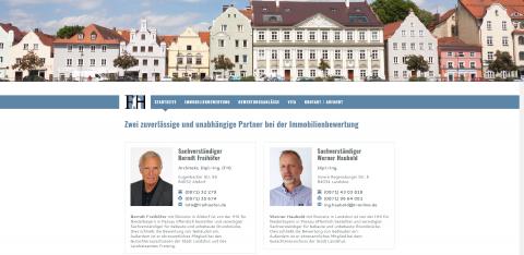 Ihr Partner für die Immobilienbewertung: Diplom-Ingenieur Werner Haubold in Landshut in Landshut