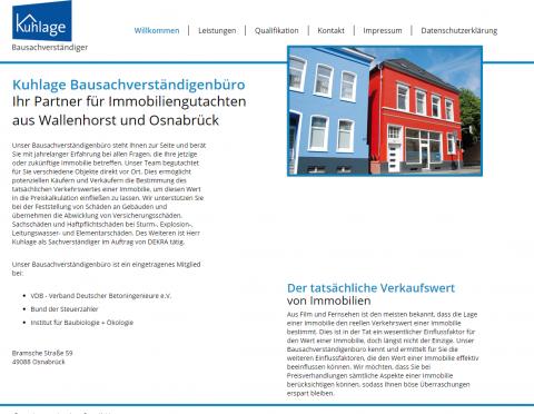 Ihre Immobilienmakler in Osnabrück: Bausachverständigenbüro Peter Kuhlage in Osnabrück