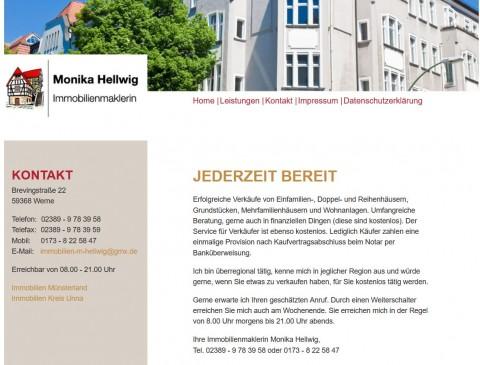 Immobilien als lukrative Kapitalanlage finden mit Monika Hellwig in Werne