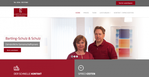 Zahnärztliche Gemeinschaftspraxis Bartling-Schulz & Schulz aus Bochum: Ihre Experten für Implantologie in Bochum