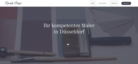 Ihr Malerbetrieb in Düsseldorf: Paint One GmbH in Düsseldorf
