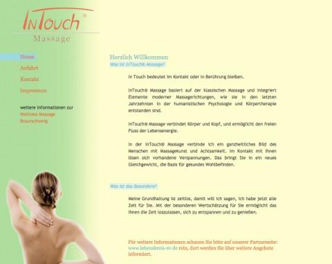 In Touch D. Wetzel, Massage in Braunschweig in Braunschweig