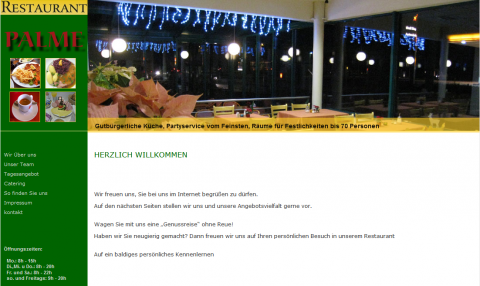 Restaurant Palme in Aldenhoven in Aldenhoven