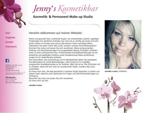 Jenny´s Kosmetikbar – Kosmetik- und Permanent Make-up Studio in Berlin Prenzlauer Berg in Berlin