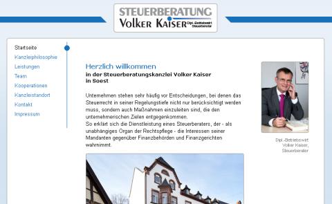 Steuerberatung Volker Kaiser in Soest in Soest