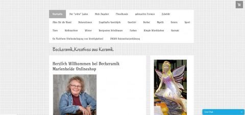 Schöne Dekoration aus Keramik: Beckeramik in Marienheide