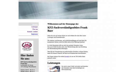 Kfz-Sachverständigenbüro Frank Baer: Schnelle Hilfe bei Unfällen in Berlin in Berlin