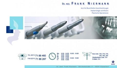 Implantologie in Düsseldorf: Dr. med. Frank Niermann in Düsseldorf