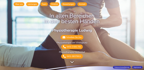 Ihr Physiotherapeut in Kiel: Physiotherapie Ludwig in Kiel