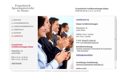 Übersetzungen in Neuss: Kimm Fachübersetzungen in Neuss