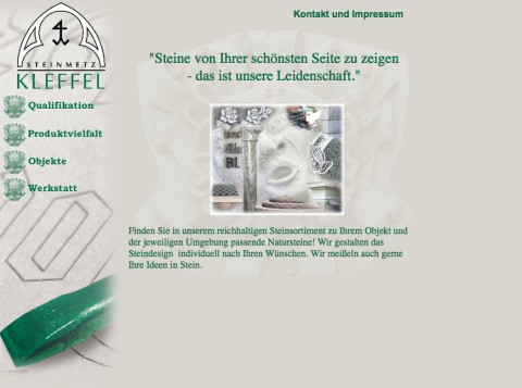 Kleffel-Natursteine, Michael und Werner Kleffel GbR in Sangerhausen in Sangerhausen