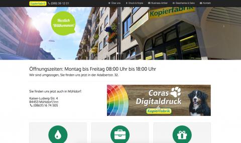 Hochwertiger Digitaldruck bei Coras Digitaldruck in Mühldorf in Mühldorf