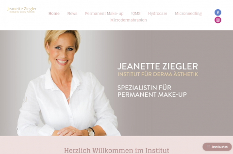 Mikrodermabrasion und Permanent Make-up in Berlin: Jeanette Ziegler in Berlin