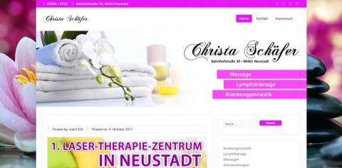 Schmerzfrei leben dank effektiver Krankengymnastik: Christa Schäfer aus Neustadt  in Neustadt bei Coburg