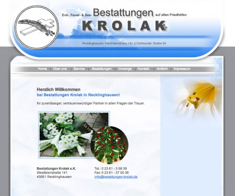 Bestattungen Krolak e.K. in Recklinghausen in Recklinghausen