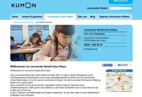 Lerncenter Kumon in Neukirchen-Vluyn in Neukirchen-Vluyn