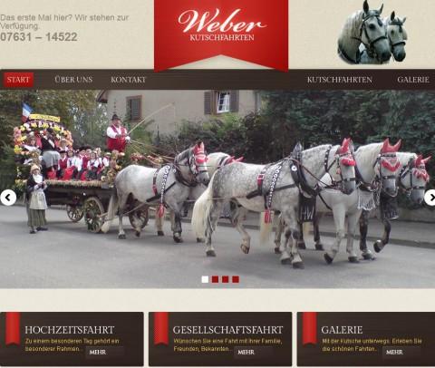 Kutschfahrten Weber in der Region Freiburg in Müllheim