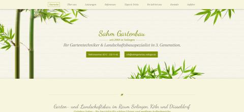 Sie suchen einen fähigen Gärtner in und um Solingen? Sie haben ihn gefunden in Solingen