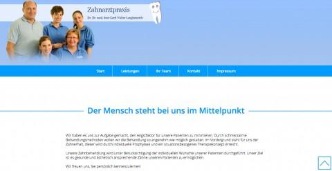 Alles für die Mundgesundheit: Zahnarzt Dr. Gerd Walter Langheinrich in München in München