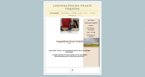 Logopädie in Menden: Logopädische Praxis Vorhoff  in Menden Lendringsen