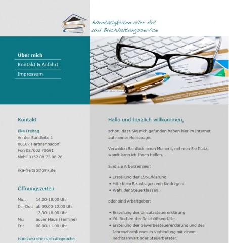 Lohnsteuerhilfe in Zwickau: Ilka Freitag in Hartmannsdorf