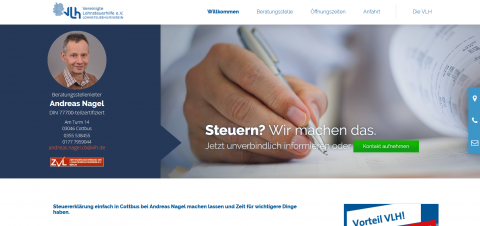 Ihre Lohnsteuerhilfe in Cottbus: persönlich, hilfreich und auf Augenhöhe in Neustadt