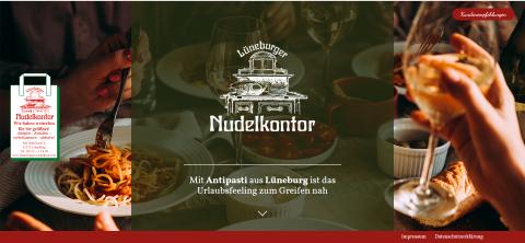 Italienische Köstlichkeiten vom Lüneburger Nudelkontor: Für den puren Genuss zu Hause in Lüneburg