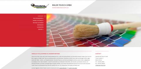Der Maler Ihres Vertrauens: Malerbetrieb Teusch GmbH in Wittlich in Wittlich