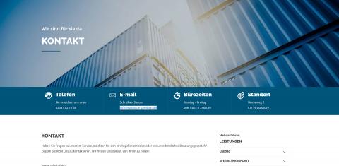 Ihr Umzugsservice in Duisburg: Gombert Logistik und Services GmbH in Duisburg