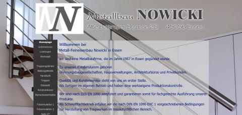 Hier hat Vielseitigkeit Tradition: Metallbau Nowicki aus Düsseldorf in Essen
