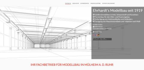 Technischer Modellbau seit 1919: Ehrhardt's Modellbau GmbH in Mülheim an der Ruhr