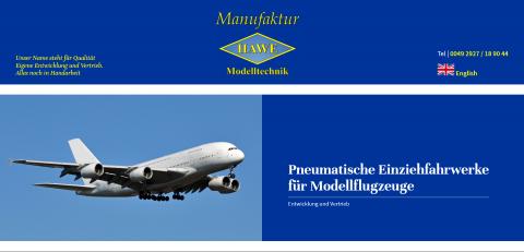 Hoch hinaus mit den Einziehfahrwerken für Modellflugzeuge in Anröchte/Altengeseke