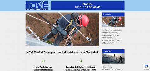 Ihre Industriekletterer in NRW: MOVE Vertical Concepts in Düsseldorf