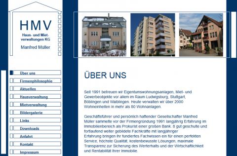 Hausverwaltungen in Stuttgart: HMV Immobilienverwaltung GmbH & Co. KG. in Ludwigsburg