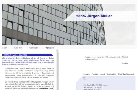 Sachverständigenbüro Hans-Jürgen Müller im Großraum München in Unterhaching
