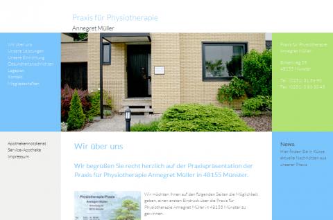 Praxis für Physiotherapie Annegret Müller in Münster in Münster