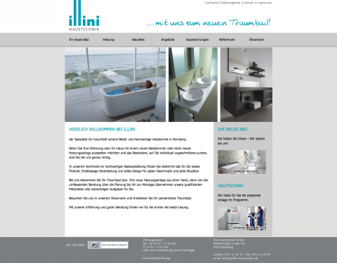 Heizung und Sanitär in guten Händen - Illini Haustechnik GmbH in Nürnberg in Nürnberg