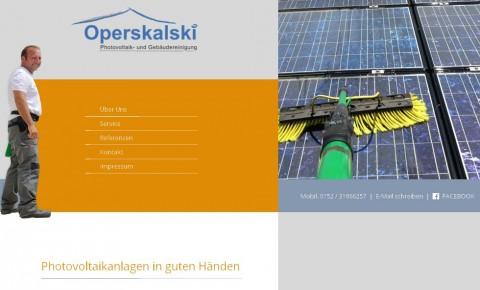 Operskalski Photovoltaik- und Gebäudereinigung in Giebelstadt in Giebelstadt