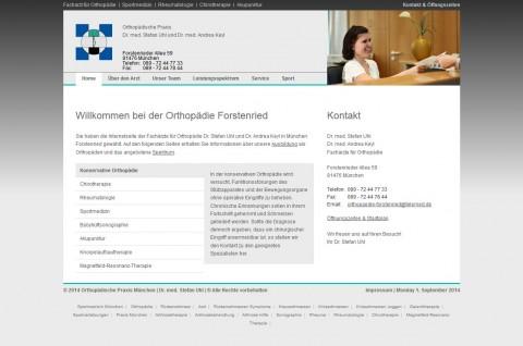 Orthopädische Praxis Dr. med. Stefan Uhl und Dr. med. Andrea Keyl in München in München