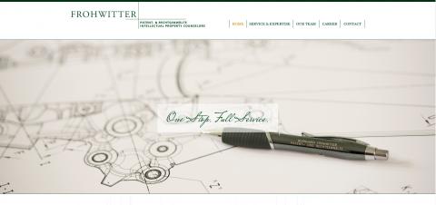 Ihre Patent- und Rechtsanwälte aus München   Kanzlei Frohwitter in München