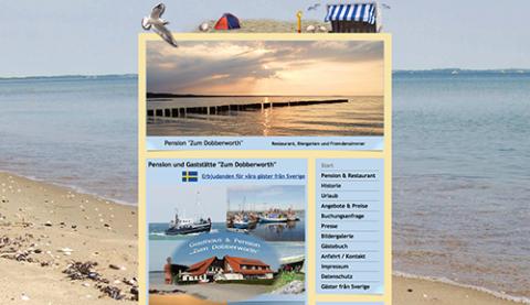 """Pension """"Zum Dobberworth"""" auf der Insel Rügen in Sagard"""